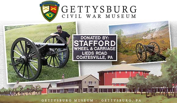 Stafford Wheel & Carriage Donates Cannon